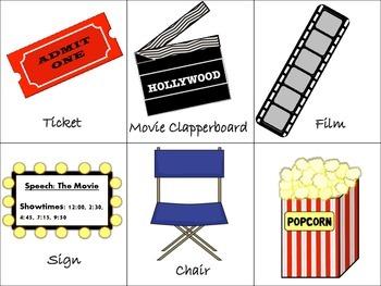 Movie/Music Speech and Language Activities!