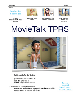MovieTalk TPRS