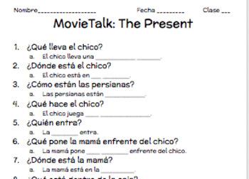 MovieTalk: The Present