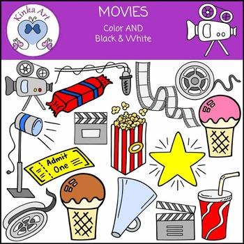 Movies / Film Clip Art