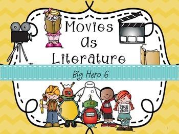 Movies as Literature: Big Hero 6
