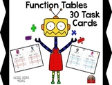 Function Tables: Movin' Groovin' Classroom Printable Game Cards