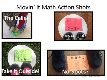 Movin' It Math Differences: Subtraction Facts to 20