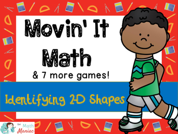 Movin' It Math Identifying 2 Dimensional Shapes