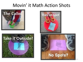 Movin' It Math Numbers 11-15: Subitizing, Comparing, Decomposing