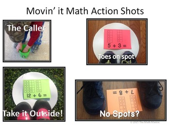 Movin' It Math Sums 6-10: Fluency With Addition Facts to Ten