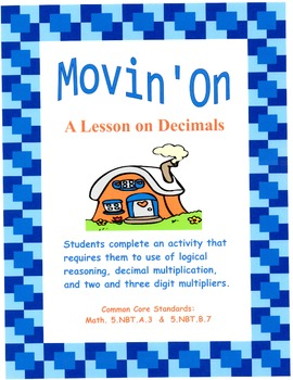 Movin' On - A Lesson on Decimals