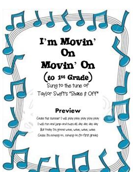 "Kindergarten Graduation Song ""MOVIN' ON"" to Taylor Swift's ""Shake it Off"""