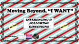 "Moving Beyond ""I WANT"""