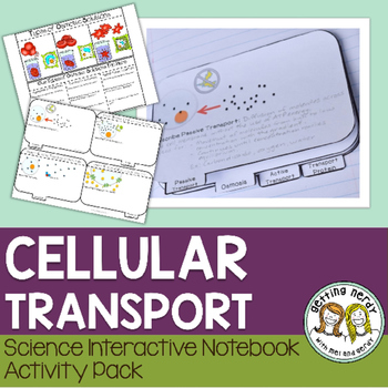 Osmosis Diffusion - Science Interactive Notebook