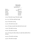 """""""Moving Day"""" by Robert Kalan Readers Theater"""