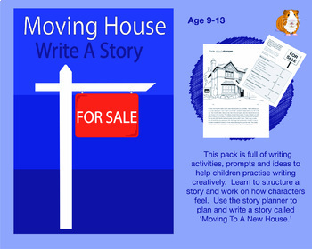Moving House: Write A Story (9-13 years)