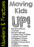 Moving Kids UP! Numbers and Fractions Packet