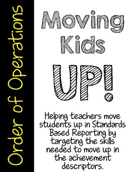 Moving Kids UP! Order of Operations