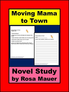 Moving Mama to Town by Ronder Thomas Young Book Unit