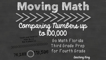 FREE Moving Math Game Comparing Numbers Up to 100,000 Intervention