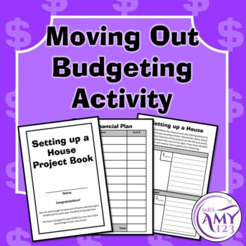 Moving Out Budgeting Activity- Money, Financial Planning,