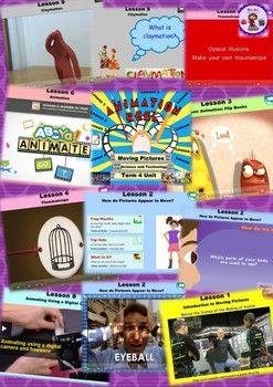 Moving Pictures - Animations Technology Smart Notebook & Program for Years 3 - 6