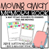 Student Moving Away | Goodbye Memory Book