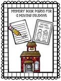 Moving Student Memory Book