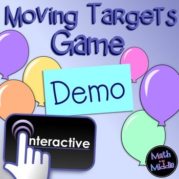 Moving Targets Interactive FREE Review Game Demo