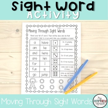 Moving Through Sight Words