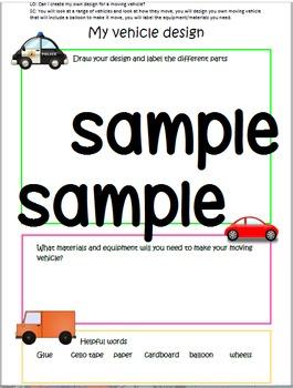Moving Vehicle Design Booklet