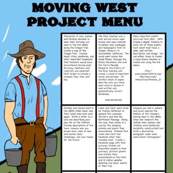 Westward Expansion Project Bundle