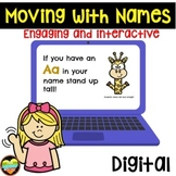 Moving With Names--Distance Learning