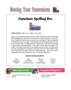 Moving Your Possessions Lesson