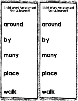Moving and Grooving Unit 1-3 Wonders First Grade Sight Word Practice