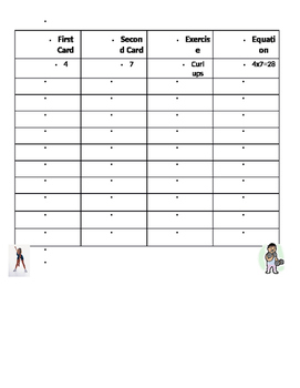 Exercise and Movement in Math Common Core Aligned Lessons and Activities