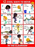 Moving in the Classroom Visual Series- 12 COOL Ways to Mov