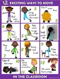 Moving in the Classroom Visual Series- 12 EXCITING Ways to