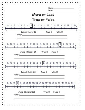 Moving on a numberline