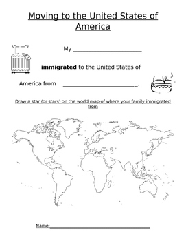 Moving to America