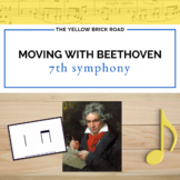 Moving with Beethoven: quarter notes, barred eighths, and rests
