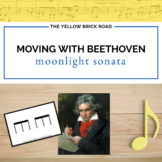 "Moving with Beethoven: movement activities for the ""Moonlight Sonata"""