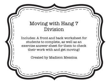 Moving with Hang 7 Division