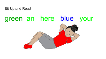 Moving with Sight Words - Set 2