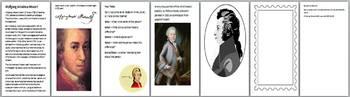 Mozart Activity Pack