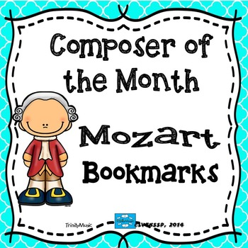 Mozart Bookmarks (Composer of the Month)
