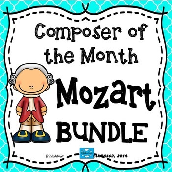 Mozart Composer of the Month (BUNDLE)