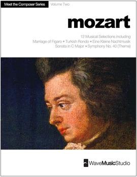Mozart | Meet the Composer Series Piano Book, Vol. 2 (Digital Print)