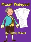 Mozart Webquest (Great Website for Kids)