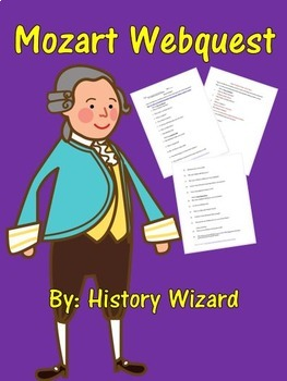 Mozart Webquest (Great Website for Kids)