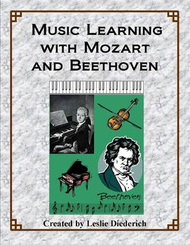 Mozart and Beethoven Music Learning Combo Packet