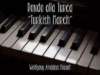 Mozart's Rondo alla Turca Listening Lesson
