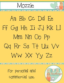 Font Mozzie - For Personal and Commercial Use
