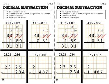 Mr. A's 6th Grade Interactive Math Journal - Oct 2018 update